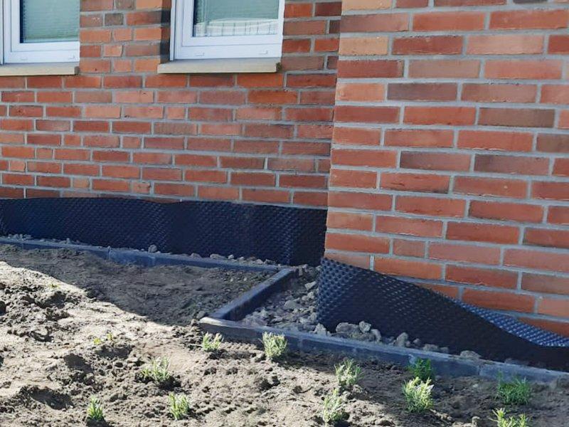 Kabel- und Grundmauerschutz